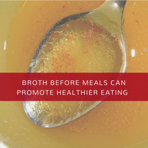 broth and spoon