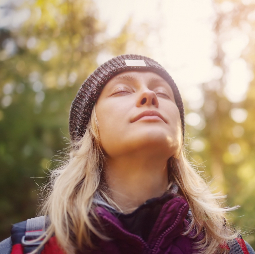 Breathing techniques can relax the body and mind.